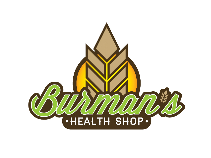 Burman's Health Shop Logo