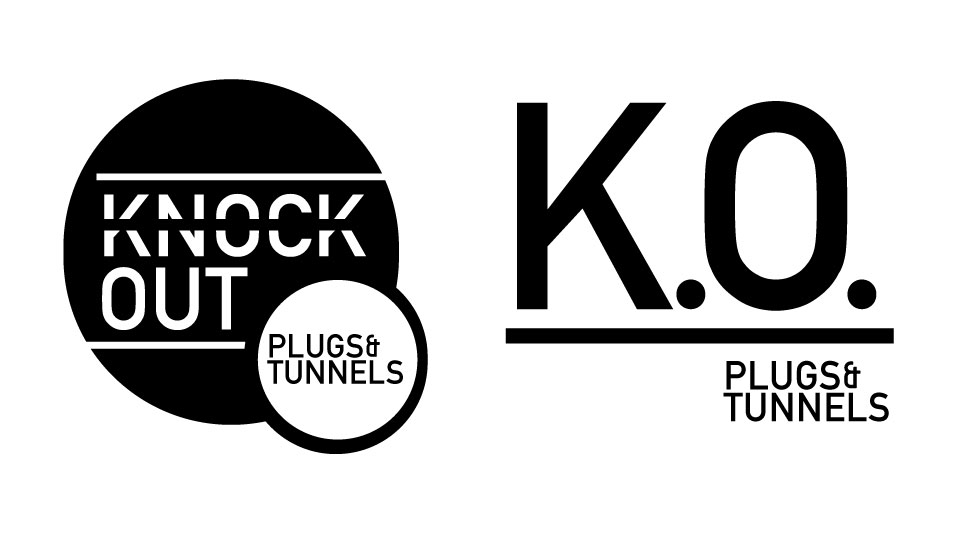 Knock Out Plugs & Tunnels Logo